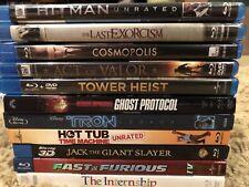 11 Blu-Ray Only Movie Lot- Cosmopolis Tron Hot Tub Time Machine + Free Shipping!