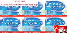 6 Boxes 84 Tablets Galpharm One-a-Day Hayfever and Allergy Relief 10mg 84Tablets