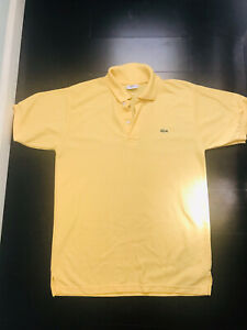 mens lacoste polo shirt size S