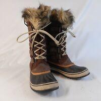 SOREL Joan of Arctic Winter Boot - Women's Size 9  Brown  1308891256