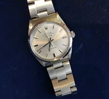 Beautiful ROLEX Air-King Ref 5500 Men's Wrist Watch Box and Papers