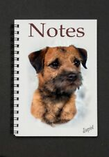 Border Terrier Notebook / Notepad By Starprint - Auto combined postage