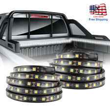 "2X 60"" LED BAR TRUCK BED CARGO WORK LIGHTING KIT STRIPS FOR CHEVY FORD DODGE GMC"