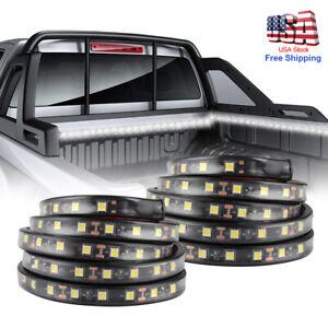 "2X 60"" LED BAR TRUCK BED CARGO WORK LIGHTING KIT STRIPS FOR CHEVY FORD DODGE GMC"