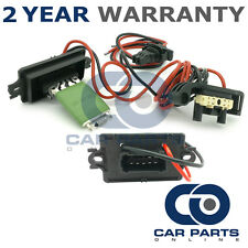 FOR RENAULT CLIO MK 3 PHASE 1 1.2 E85 BIOETHANOL PETROL 2008-09 HEATER RESISTOR