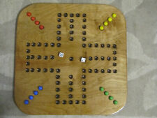 AGGRAVATION GAME BOARD (4EA) - FOUR PLAYER SQUARE WOODEN GAME BOARD