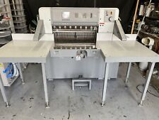 Polar Model 78 Ed 307 Programmable Paper Cutter With Air Table Challenge