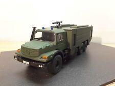 Siku 1/55 Mercedes Benz ZETROS Custom Bundeswehr Feuerwehr  Army Firefighter