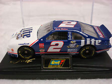 NASCAR RUSTY WALLACE #2 MILLER LITE 1998 FORD TAURUS 1:64 WITH CASE BY REVELL