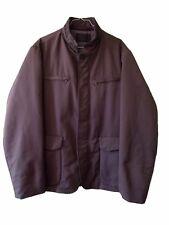 TRUSSARDI Men's € 650 Brown Winter Fashion Coat Jacket sz IT 56 UK 46