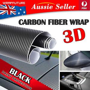 2x 1.5Mx30CM 3D-vision Carbon Fiber Design Vinyl Film Car Auto Wrap Decal Sheets
