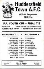 Huddersfield Town Teams F-K FA Cup Final Football Programmes