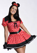 Plus Size Minnie Mouse Girl Costume