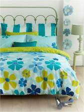 New Tahiti Blue King Size Quilt Doona Cover Set - 225TC Percale