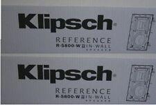 Klipsch R-5800-W II Main / Stereo Speakers Pair Brand New R 5800 W II
