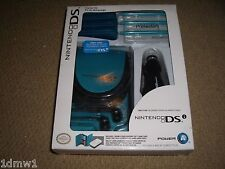 NINTENDO DSi OFFICIAL ACCESSORY PACK BRAND NEW! Console Game Cases Car Charger