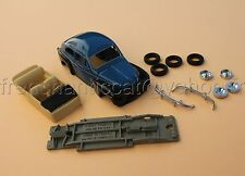 TA voiture 1/43 VOLVO PV544  collector Nikki models Heco miniatures resine bleu