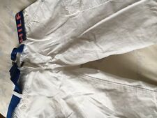 BOYS AGE 14 TOMMY HILFIGER WHITE COTTON CARGO SHORTS BELT TAGGED 100% AUTHENTIC