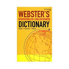 BACK TO SCHOOL SPECIAL Webster's Spanish/English + Eng/Span Paperback Dictionary