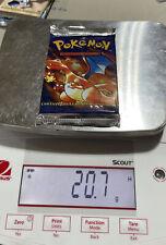 Pokemon Base Set Factory Sealed Booster Pack Spanish Charizard Artwork 20.7 Gram