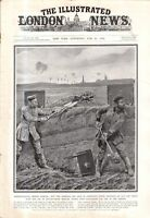1915 London News August 21 - German objective of Warsaw; Emperor of Russia