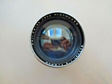 Carl Zeiss Jena 8.5cm F/2 Sonnar 85mm Lens for Contax Rangefinder Fungus