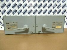 Ge Thfp361 Thfp362 Hardware Twin 30amp60 Amp 600v Type Qmr Switch Warranty