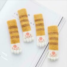 4Pcs/set Cat Paw Table Foot Socks Chair Leg Covers Protect Socks Floor Z6E6