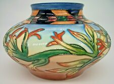 Moorcroft Indian Paintbrush Vase by Philip Gibson