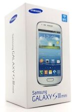 Samsung Galaxy Siii Mini White Empty Box Only No Phone And Accessories S3 Mini
