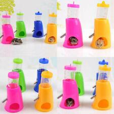 2in1 Small Animal Hamster Dispenser With Base Nest Water Bottle Holder Pet CY2