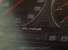 BMW ALPINA sticker Decal 2x e30 C1 B6 2.7 Alpina m20 m30