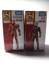Marvel Avengers Metal Figure Collection (Metacolle) Takara Tomy Set of 2