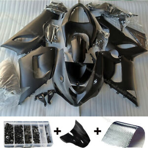 Black Fairing Kit For Kawasaki Ninja ZX6R ZX-6R ZX636 2013-2018 Body Work Bolt