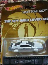 Hot Wheels ( Movie Car - James Bond 007 /Spy Who Loved Me / Lotus Espirit S1 )