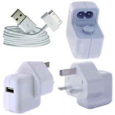 GENUINE Apple iPad 1 2 3 Mains 10W Charger Adaptor A1357 & 30 Pin USB Cable