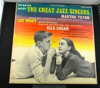 The Great Jazz Singers (Halo 50269) Martha Tilton Lee Wiley Ella Logan
