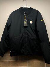 Nike Pittsburgh Steelers Insulated Winter Jacket Mens Medium M NFL 943980-010
