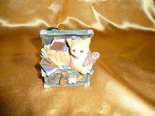Cornerstone Creations (2001) Cat in a Trunk Resin Figurine