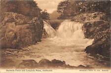 Ambleside, Skelwith Force and Langdale Pikes waterfall cascade
