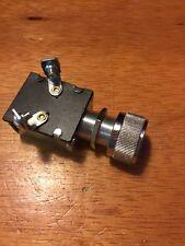 VINTAGE DASH PANEL START BUTTON WITH GARD RAT HOT ROD BOAT TRACTOR SCTA  FLAT