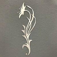 Flower Accent Metal Wall Art Decoration Skilwerx Modern Floral 12