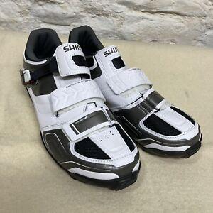 White Shimano Cycling Shoes Torbal EU 45 / USA 10.5 New Without Box