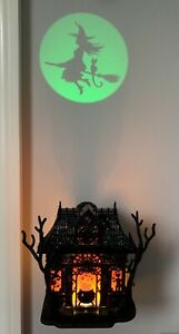 Bath & Body Works *Haunted House* Halloween Witch Projector Plug-In Nightlight