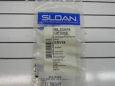 New*  Pk of 12 Sloan Optia EBV18 Quad Ring Seal  1/8 x 1/4 x 1/16 in  A2