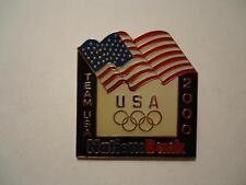 Team USA 2000 Nations Bank Flag Olympics Pin