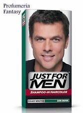 JUST FOR MEN SHAMPOO COLORANTE CASTANO SCURO H-45 GREY TARGET TECHNOLOGY