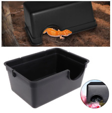Reptile Hiding Case Hole Spider Turtle Water Feeder Pet Supplies New Two Sizes
