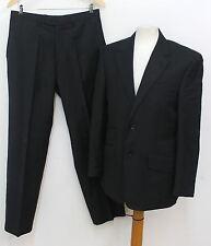 NEXT Black Men's Smart Single Breasted Two Piece Trouser Suit UK 38 W32 L32