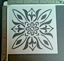 Floral Mandala Stencil Scrapbooking Cardmaking Airbrush Inking Home Decor Art #3